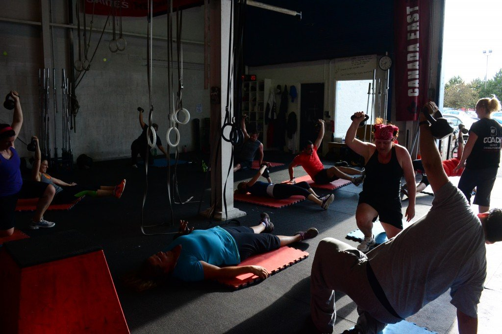 Alchemy Crossfit hamilton Ontario Turkish Get-up