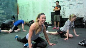 Jess is smiling cause it's Mobility Monday!
